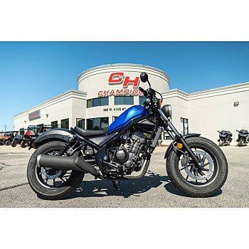 2018 Honda Rebel 300 for sale 200631652